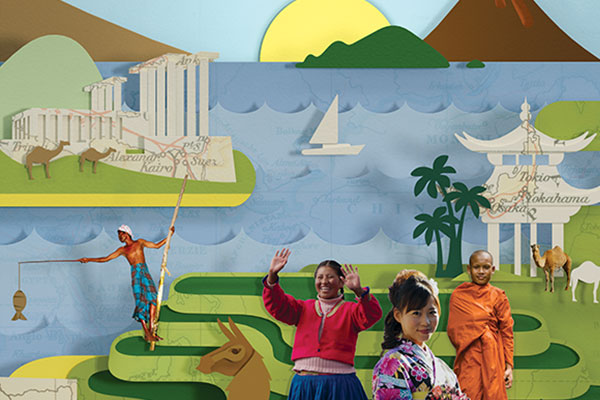 Familiereizen Azië