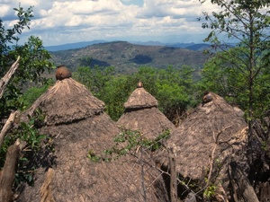 Omovallei - Konso dorp