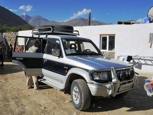 Vervoer Jeep - Tadzjikistan