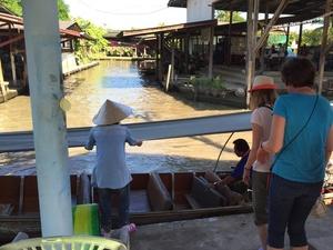 Damnoen Saduak drijvende markt