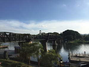 Kanchanaburi Bridge over the River Kwai