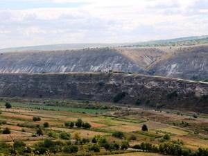 Orhei Vechi landschap Moldavie