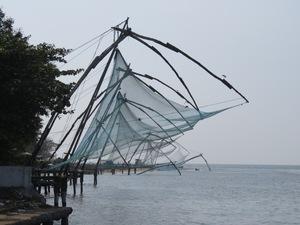 Chinese vissersnetten Cochin