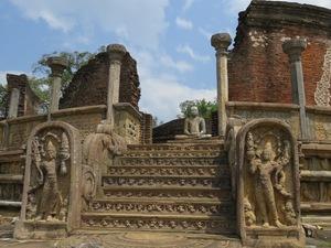Tempelcomplex Pollonaruwa