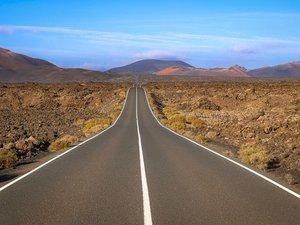 Lava-vlakte op El Teide
