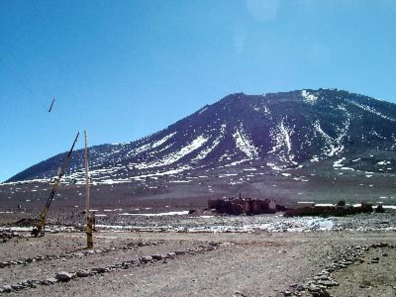 grensovergang bolivia/chili