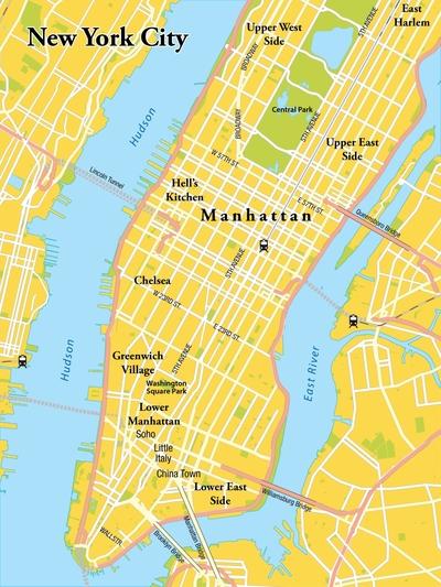 Routekaart Ontdek het 'andere' New York, 7 dagen