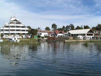 Peru en Bolivia hotel accommodatie uitzicht overnachting Djoser