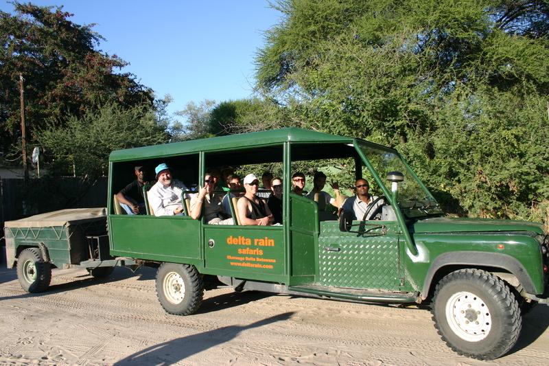 Vervoer per terreinwagen