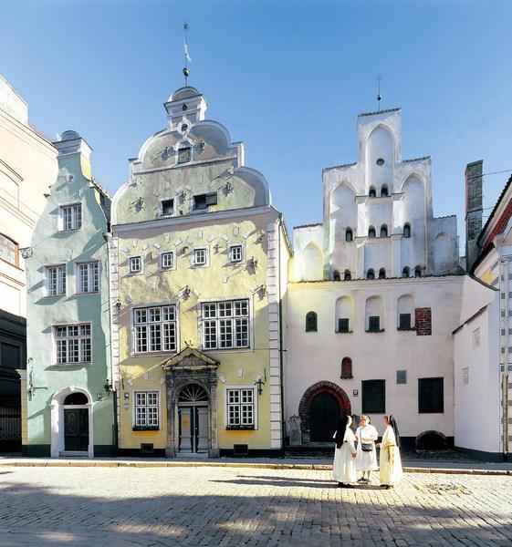 Riga - de drie broers