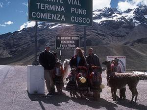 Puno - Cusco Fotostop