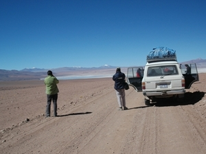 Op pad met de jeep