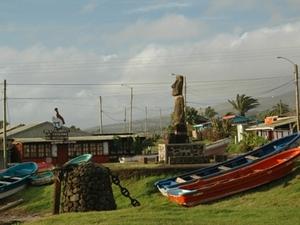 Moai in de bewoonde wereld