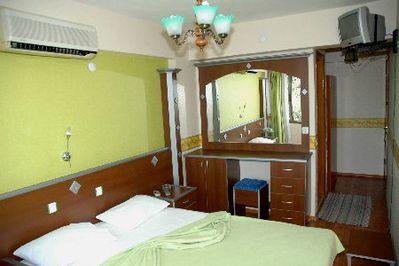 Turkije overnachting hotelkamer Djoser