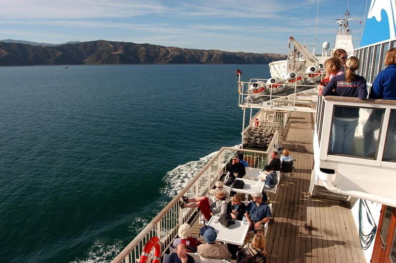 Oversteek Cook Strait