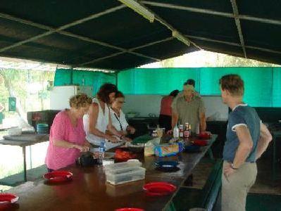 Australie en Tasmanie dinner djoserreizigers Djoser