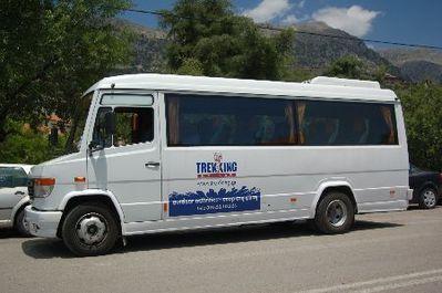 Griekenland Djoser busvervoer vervoersmiddel