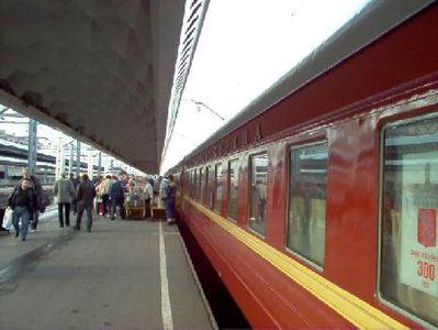 Rusland noorwegen Finland trein Djoser
