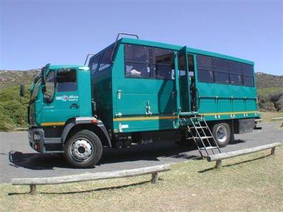 Namibie busvervoer vervoersmiddel Djoser