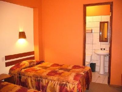Peru Hotel Los Aticos slaapkamer Djoser