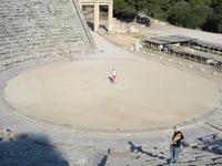 Griekenland Nafpljon Tiryns grieks Theater Djoser