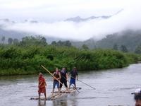 Bamboe raft Chiang Mai
