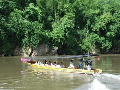 Boot River Kwai Thailand Djoser