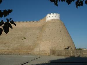 Khiva stadsmuur