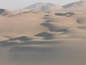 Zandduinen bij Huacachina