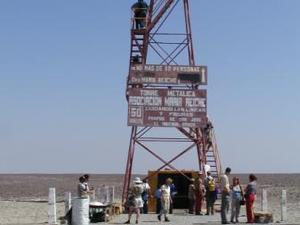 De uitkijktoren van Nasca