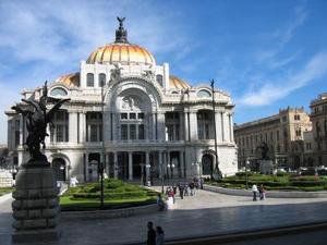 Paleis van de Schone kunsten, Mexico-Stad