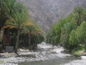 de falaj bij Nakhl