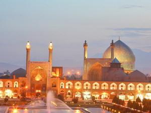 Iran - Isfahan bij nacht