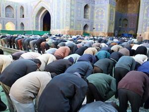 Iran - Isfahan - gebed