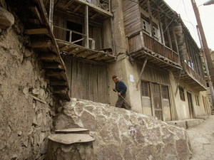 Iran - bergdorp