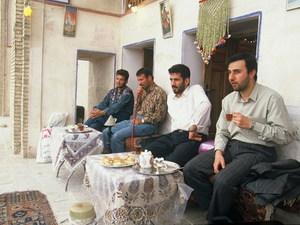 Iran - Kerman - theehuis
