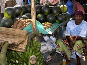 Isiolo - Fruitverkopers