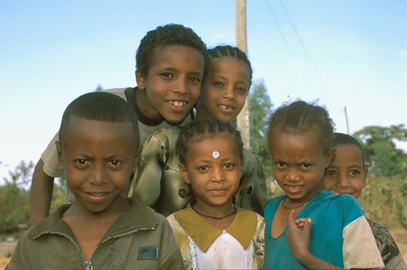 Bahir Dar - kinderen