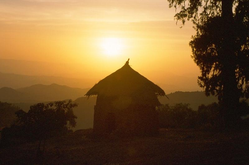 Lalibela - huisje