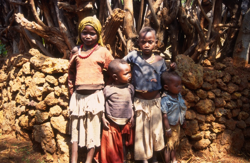 Omovallei - Konso kinderen