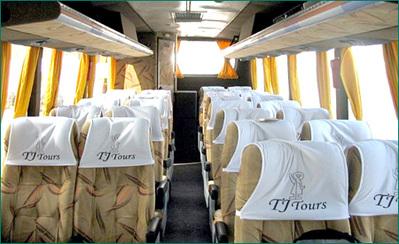 Peru rondreis bus vervoersmiddel Djoser