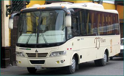 Peru bus vervoersmiddel Djoser