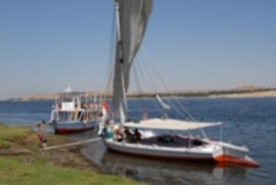 Egypte bootexcursie rivier Djoser