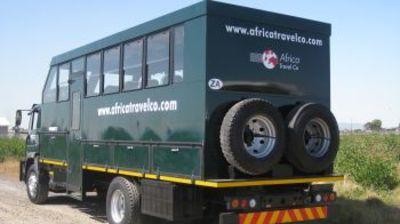 Truck Namibie hotelreis