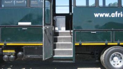 Truck Namibie hotelreis instap