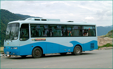 Laos en Cambodja bus vervoersmiddel Djoser