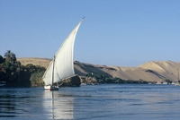 Felucca Nijl Egypte