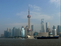 Skyline Sjanghai