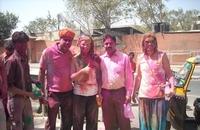 Happy Holi Jaipur India Djoser