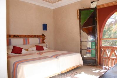 Marokko hotel kamer overnachting Djoser